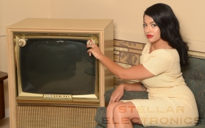 50s stellar tv retro advertising vintage rockabilly fifties 4 pinup
